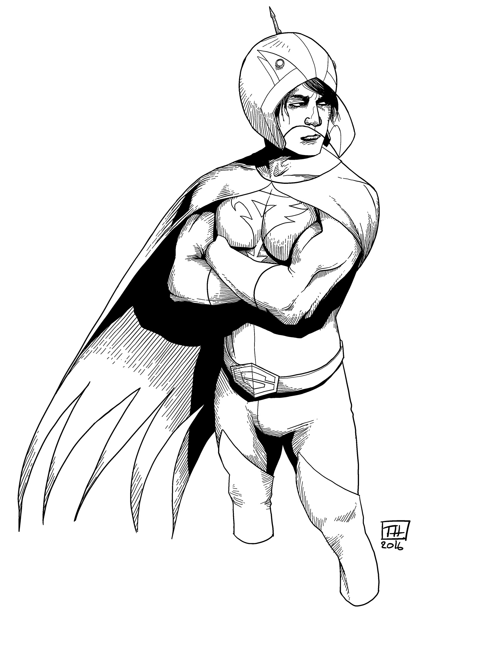 Battle of the Planets: Jason, fanart | Thomas Nachlik ...